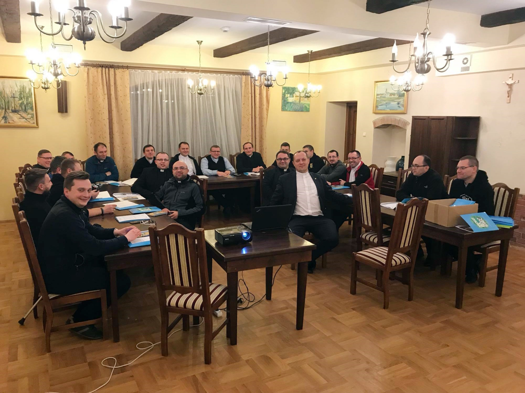 Rekolekcje kapłańskie organizowane przezKatolickie Stowarzyszenie Młodzieży