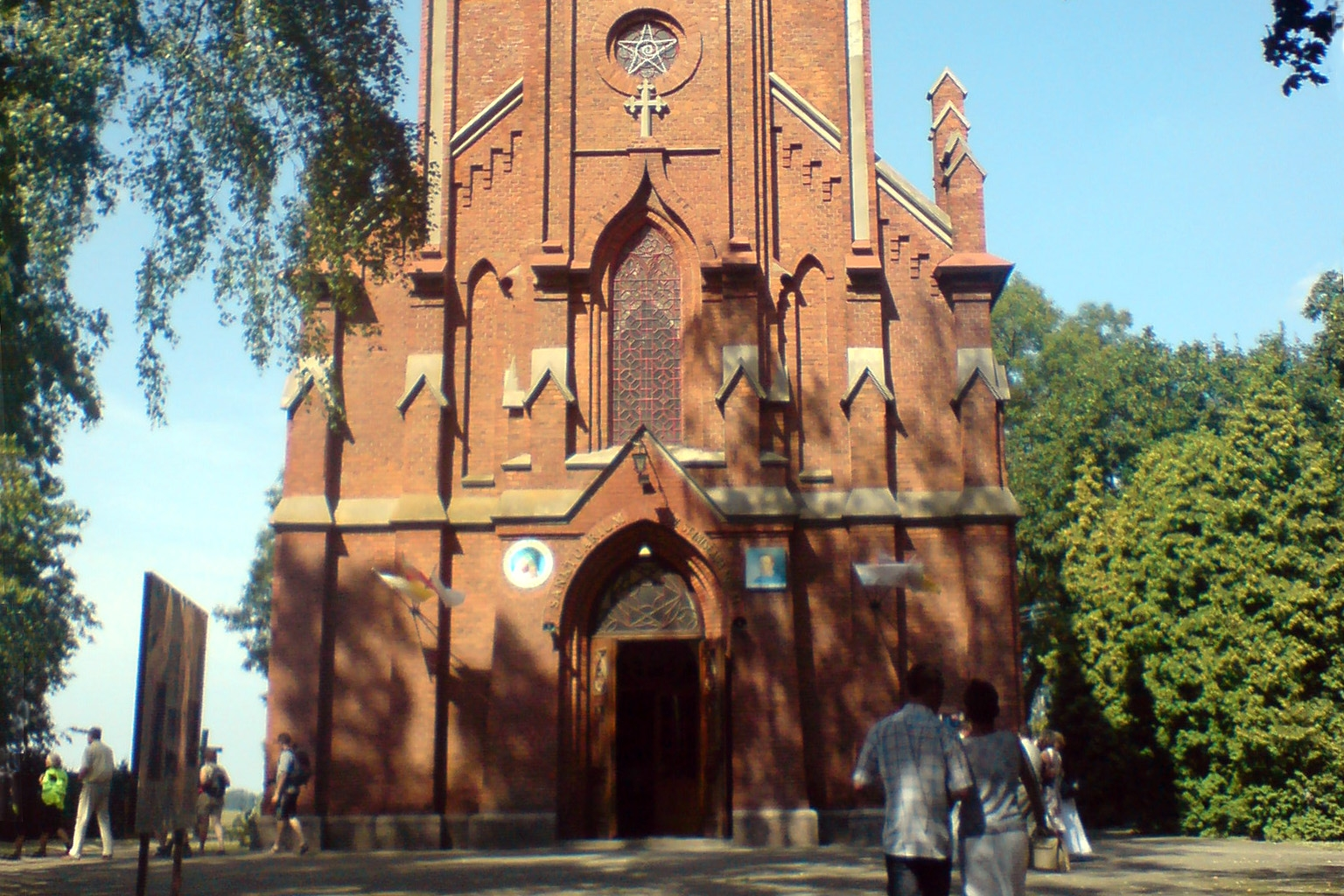 Obchody 450-lecia narodzin naNieba św.Stanisława Kostki