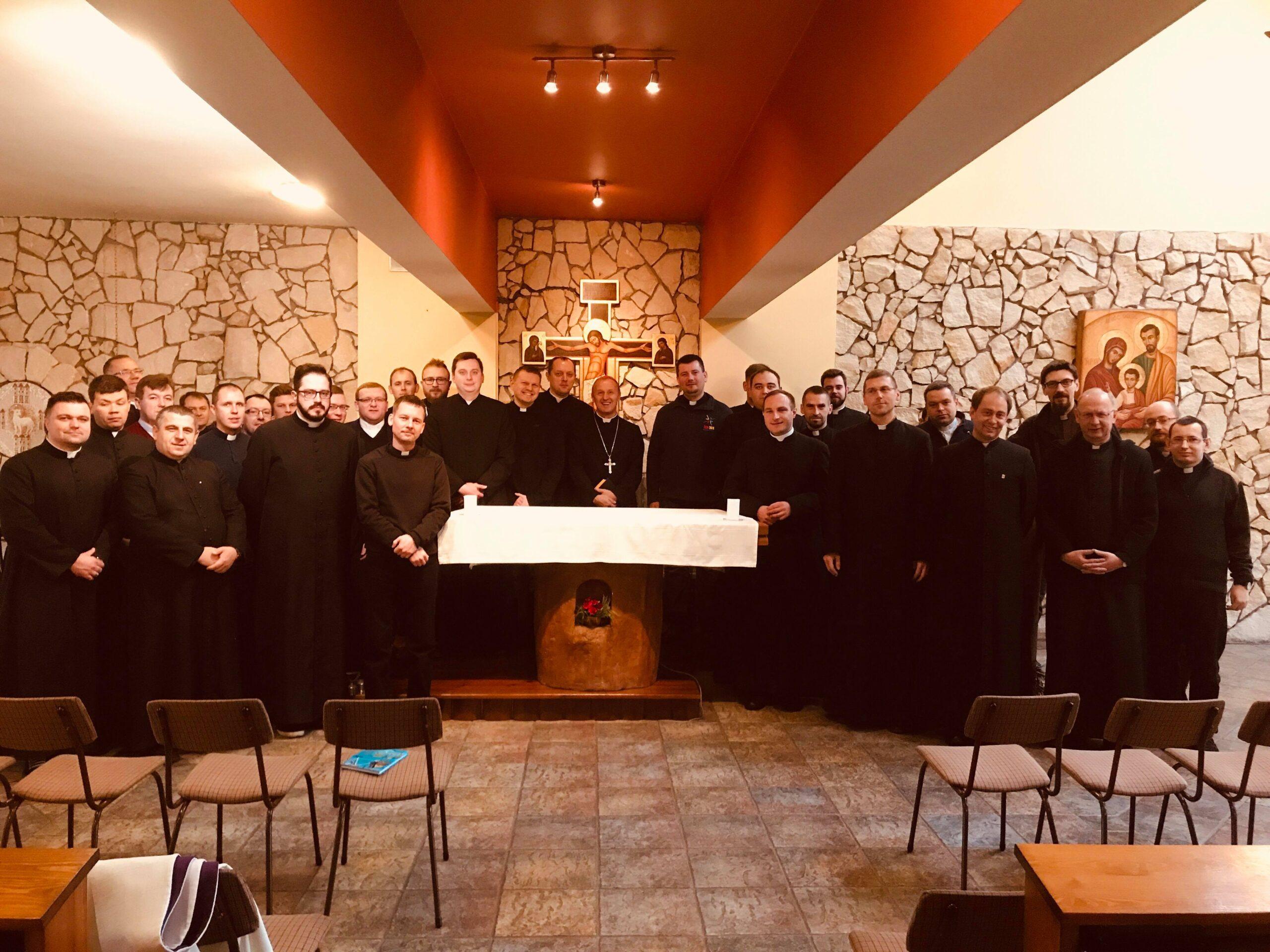 Rekolekcje Asystentów Diecezjalnych KSM zabp Rysiem ibpSolarczykiem