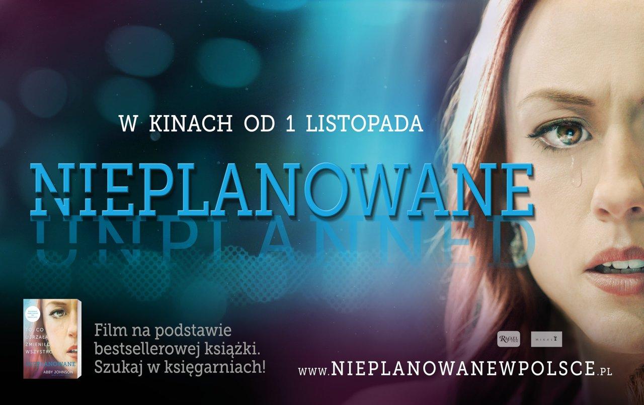 Plakat filmu Nieplanowane - patron KSM