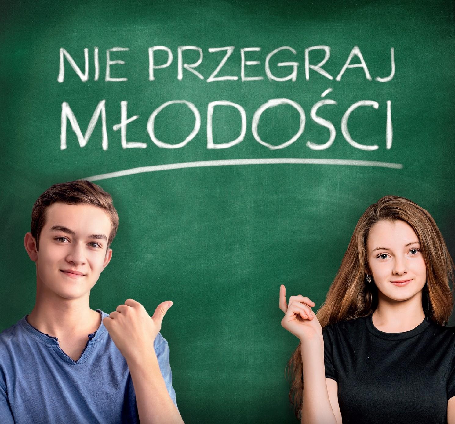 Książka ifilm NIEPRZEGRAJ MŁODOŚCI trafił do30000 szkół wcałej Polsce