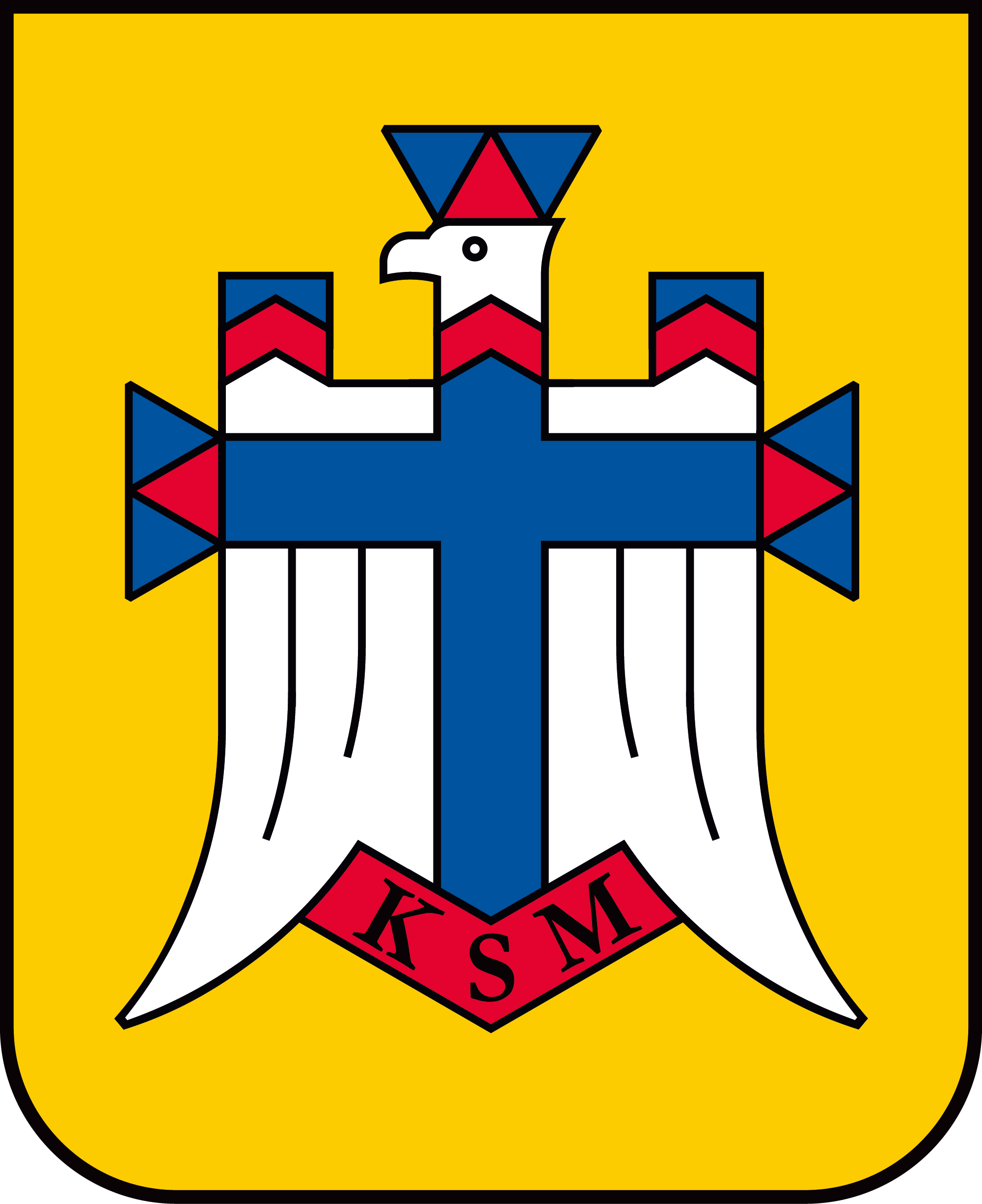 Katolickie Stowarzyszenie Młodzieży godło logo